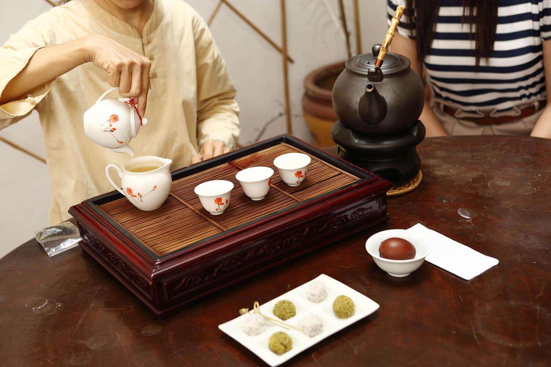 工芸茶の方のポイント