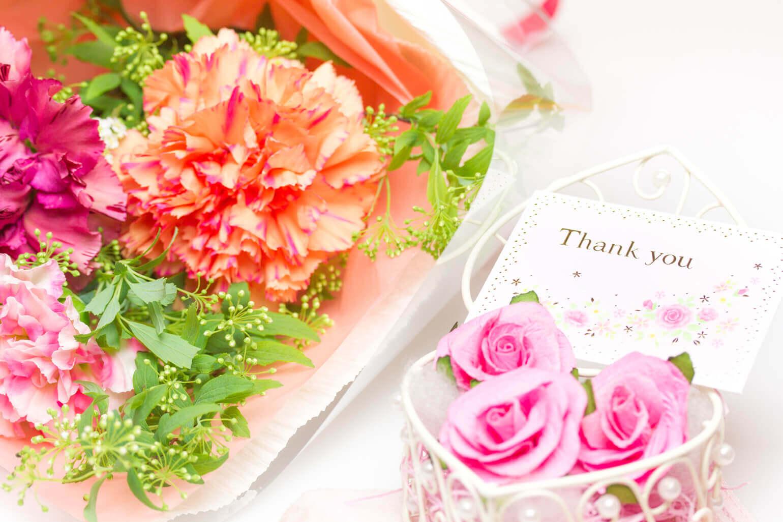 メッセージカードに感謝の気持ちを込める