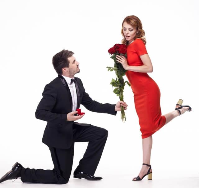 大切な日にバラを贈ろう